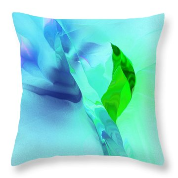 Throw Pillow featuring the digital art It's A Mystery  by David Lane
