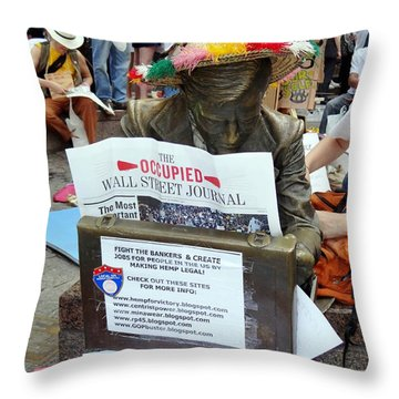 Throw Pillow featuring the photograph Its A New Dawn by Ed Weidman