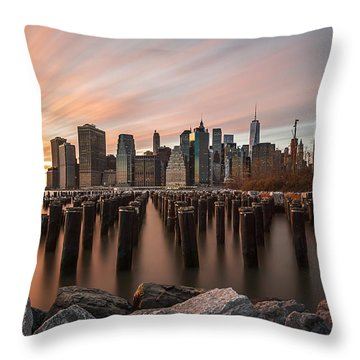 Throw Pillow featuring the photograph Its A New Year  by Anthony Fields