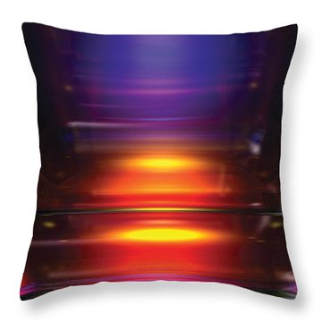 Its A Primary Thing Throw Pillow by James Kramer