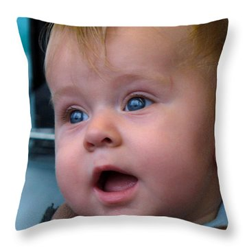 Throw Pillow featuring the photograph It's A Wonderful World by Lingfai Leung
