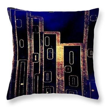 Its A Wrap Throw Pillow by Cindy McClung