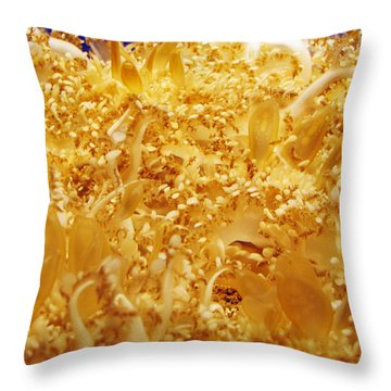 Its Alive Under Water Throw Pillow