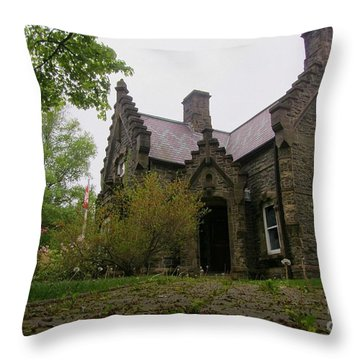 Its Alive Throw Pillow by John Malone
