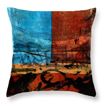It's All Been Said Before Throw Pillow