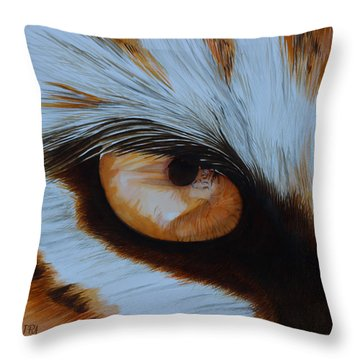 It's All In The Close Up Throw Pillow