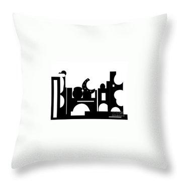 Its Bazaar Throw Pillow
