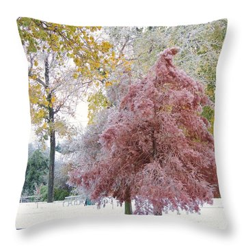 Its Beginning To Look A Lot Like Christmas Throw Pillow by Robert ONeil