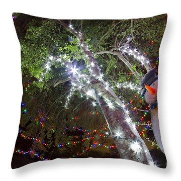 Its Christmas Time Again Throw Pillow