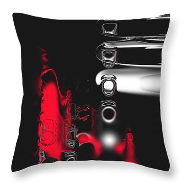 It's Complicated Throw Pillow by Kume Bryant