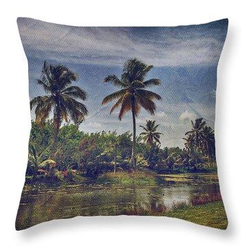 Cana Island Throw Pillows
