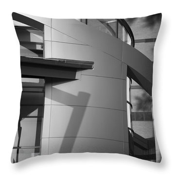 Tarrant County College, Downtown Campus, Ft. Worth, Texas Throw Pillow