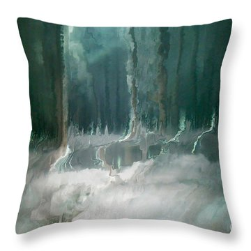 Its In The Trees Throw Pillow