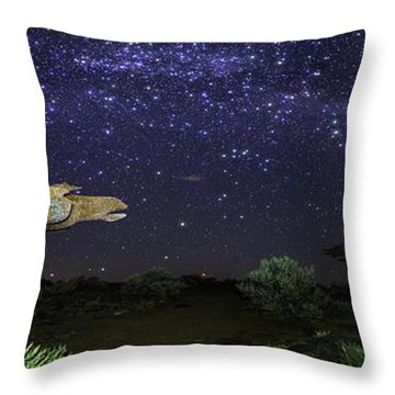 Its Made Of Stars Throw Pillow by James Heckt
