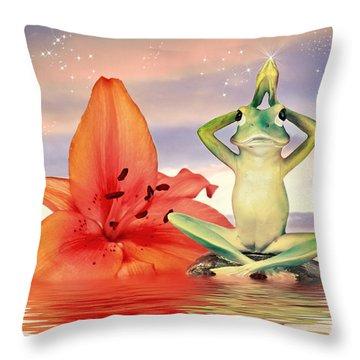 Its Magic Throw Pillow