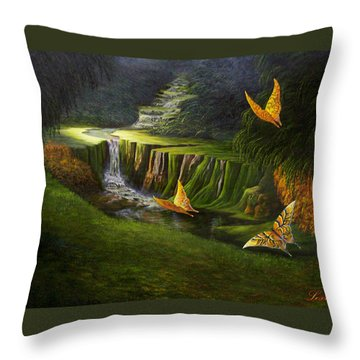Gods Promise Throw Pillow