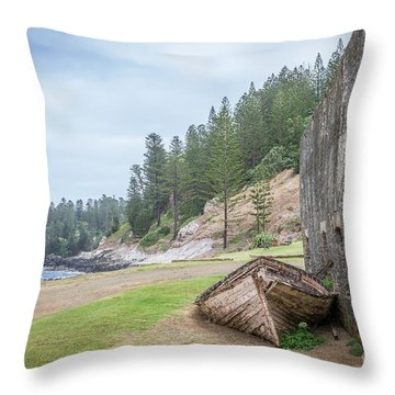It's Over Throw Pillow by Jola Martysz