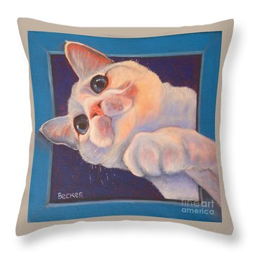 I've Been Framed Throw Pillow