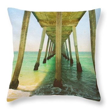 I've Been Here Before Throw Pillow by Laurie Search