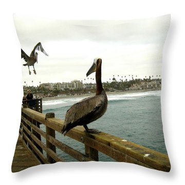 I've Been Waiting For You Throw Pillow by Melissa McCrann