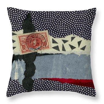 Ivory Coast 1936 Throw Pillow