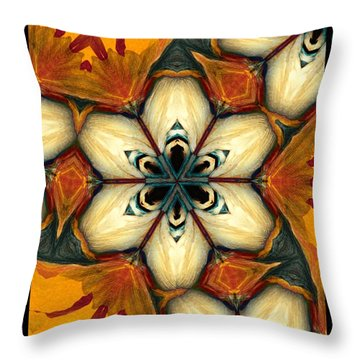 Ivory Coast Throw Pillow