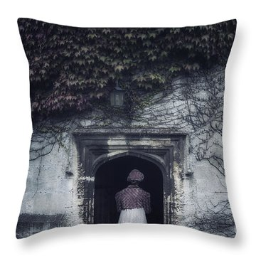 Ivy Tower Throw Pillow by Joana Kruse