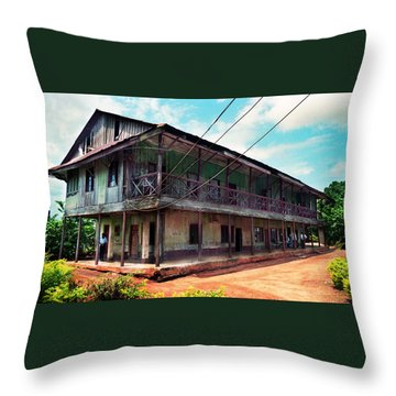 Mungo Park House Throw Pillow