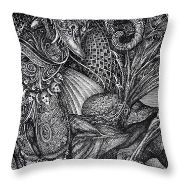 Jabberwocky Throw Pillow