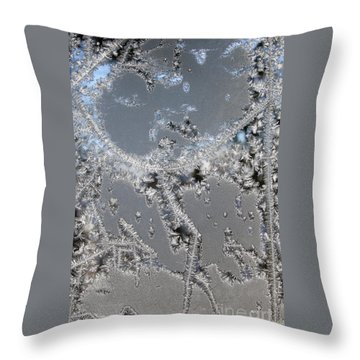 Jack Frost's Victory Dance Throw Pillow
