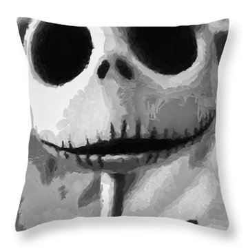 Jack Throw Pillow by Joe Misrasi