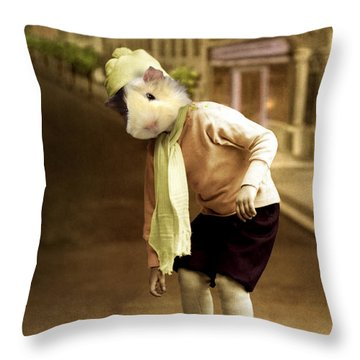 Jack Throw Pillow by Martine Roch