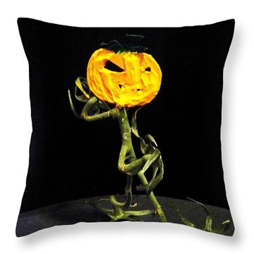 Jack On The Scene 2 Throw Pillow