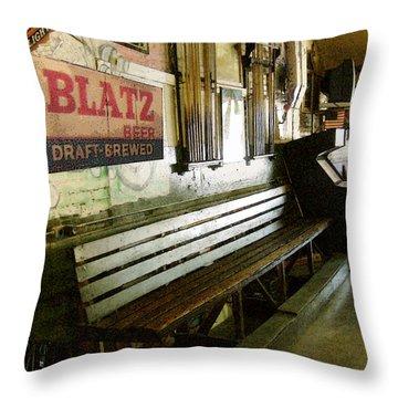 Jack's Bench Throw Pillow
