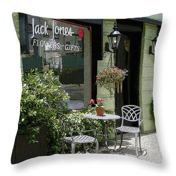Jack's Java Throw Pillow