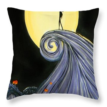 Jack's Lament Throw Pillow