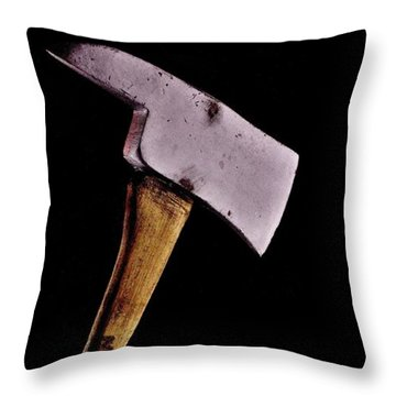Jack's Phone Throw Pillow by Benjamin Yeager