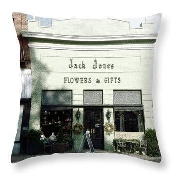 Jack's Place Throw Pillow