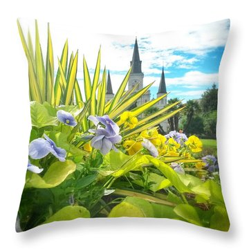 Jackson Summer Throw Pillow