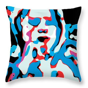 Jackson Who Throw Pillow