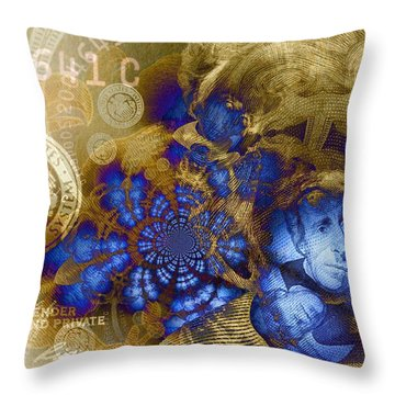 Jackson's Denial Throw Pillow by Chad and Stacey Hall