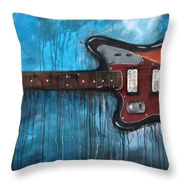 Jaguar Nirvana Throw Pillow
