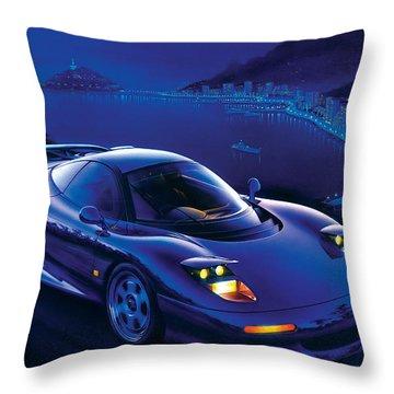 Jaguar Xjr-15 Throw Pillow by Garry Walton