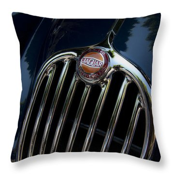 Jaguar Xk140 Throw Pillow