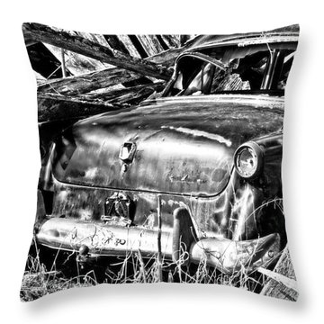 Jalopy For Rent Throw Pillow