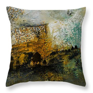 Arabic Calligraphy Throw Pillows