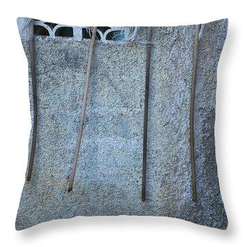Throw Pillow featuring the photograph Jamaican Mops by Randy Pollard