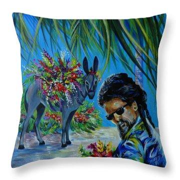 Jamaica.part One Throw Pillow