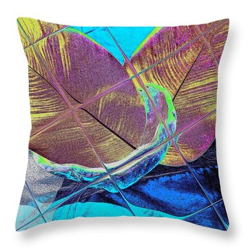 Throw Pillow featuring the digital art Jamaika 2 by Nico Bielow