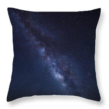 James Dean Throw Pillow by Tassanee Angiolillo